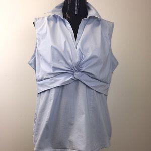 3 for $25 Apostrophe Sleeveless Striped Blouse.